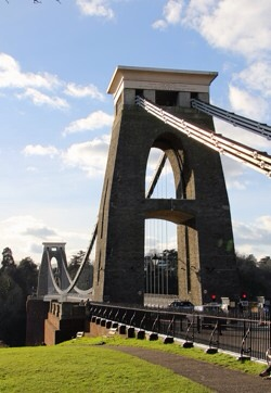 I age of Clifton Suspension Bridge